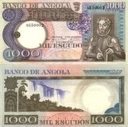 ANGOLA 1000 Escudos P 108 1973 UNC - Angola