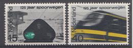 Pays-Bas 1964  Mi. Nr: 824-825 Eisenbahn In Den Niederlanden  Neuf Sans Charniere / MNH / Postfris - 1949-1980 (Juliana)