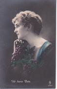 AK Dame Mit Trauben - Ich Harre Dein - Feldpost  - 1918 (28468) - Frauen