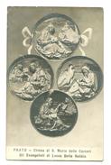 15989     Cpa    PRATO  : CHiesa Di S. Maria Delle Carceri Gli Evangelisti Di Lucca Della Robbia - Prato