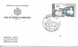 MONACO  Association Internationale De Bibliophilie  30/09/82 - Schriftsteller