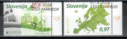 Slowenien / Slovenia / Slovenie 2016 Satz/set EUROPA Gestempelt/used - Europa-CEPT
