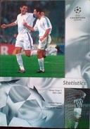 GUIDE CHAMPIONS LEAGUE 2001/2002 GROUP 2 STATISTICS - Livres, BD, Revues