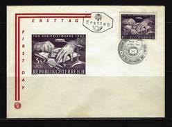 ÖSTERREICH - FDC Mi-Nr. 1127 Tag Der Briefmarke Stempel WIEN (3) - FDC