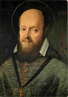 Art - Peinture Religieuse - Saint François De Sales - Véritable Portrait Dont L'original Se Trouve à La Visitation De Tu - Peintures & Tableaux