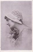 AK Dame Mit Hut Und Blumen - Feldpost - 1918 (28470) - Frauen