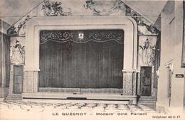 LE QUESNOY  -  Modern' Ciné Parlant ( Peu Courante ) - Le Quesnoy
