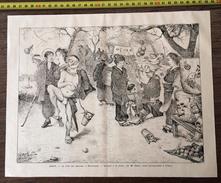 ENV 1900 JAPON LE FETE DES CERISIERS A MOUKODJINA - Collections