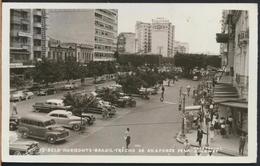 °°° 4395 - BRASIL - BELO HORIZONTE - TRECHO DA AV. AFONSO PENA - 1958 With Stamps °°° - Belo Horizonte