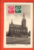 D1344 Wuppertal Elberfeld  Rathaus Gelaufen In 1933 Nach Schweiz, - Wuppertal