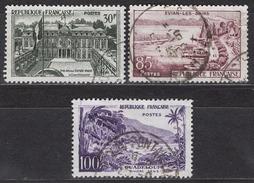 FRANCE 1959 - SERIE Y.T. N° 1192 / 1193 / 1194 - OBLITERES / K124 - Francia