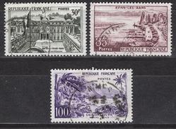 FRANCE 1959 - SERIE Y.T. N° 1192 / 1193 / 1194 - OBLITERES / K124 - Usati