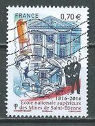France 2016 Ecole Nationale Supérieure Des Mines De Saint-Etienne Oblitéré ° - Oblitérés