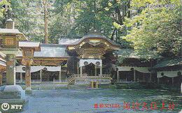 Télécarte Japon / NTT 270-086 - Pagode Centre Cultuel - TEMPLE Japan Phonecard - TEMPEL Religion TK - Japan