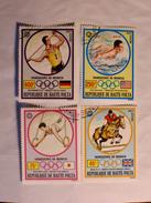 HAUTE-VOLTA  1972-73  LOT# 2  OLYMPIC WINNERS - Haute-Volta (1958-1984)
