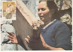 Maximum Card * Portugal * 1985 * Tocadora De Adufe - Cartes-maximum (CM)