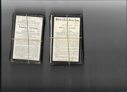 DOODSPRENTJES      OVERLEDEN: 1910-1919     200  STUKS     VLAAMSE PROV. - Religion & Esotericism