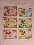 HAUTE-VOLTA  1974  LOT# 4  SOCCER - Haute-Volta (1958-1984)