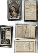 DOODSPRENTJES      OVERLEDEN: 1890-1899    537  STUKS     VLAAMSE PROV. - Religion & Esotericism