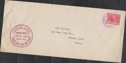 O) 1933 COSTA RICA, UPU, PAN AMERICAN CONGRESS  COLUMBUS AND CATHOLIC REYES OF SPAIN, COVER TO USA - Costa Rica