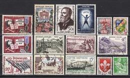 FRANCE 1959  LOT Y.T. N° ENTRE 1162 ET 1231 / OBLITERES  / K128 - France