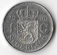 Netherlands 1980 1 Guilder [C439/1D] - [ 3] 1815-… : Royaume Des Pays-Bas