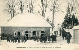 LONGWY-HAUT - En Hiver - Le Corps De Garde De La Porte De Bourgogne - Longwy