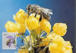 ALLEMAGNE  Carte  Maxi  1984 Insectes Abeilles - Honeybees
