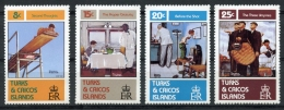 Turks And Caicos Islands, 1982, Rockwell Paintings, MNH, Michel 594-597 - Turks And Caicos