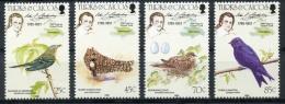 Turks And Caicos Islands, 1985, Audubon Birds, Animals, MNH, Michel 718-721 - Turks And Caicos