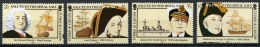 Turks And Caicos Islands, 1985, Royal Navy, Ships, MNH, Michel 733-736 - Turks And Caicos