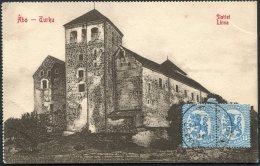 1920s Finland Abo Slottet, Linna Postcard - Reykjavik, Iceland - Finland