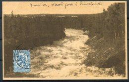 1920s Finland Imatra Waterfall Postcard - Reykjavik, Iceland - Finland