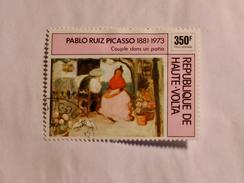 HAUTE-VOLTA  1975  LOT# 8  PABLO PICASSO - Haute-Volta (1958-1984)