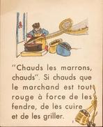 Les Petits Métiers - Textes Et Dessins De F. Estachy - 10 Planches Avec Textes Et Dessins En Couleurs - 1939 - Books, Magazines, Comics