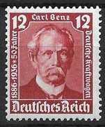LOTE 1267   ///   ALEMANIA IMPERIO 1935    YVERT Nº:  563 *MH    CATALOG/COTE: 2,25€ - Alemania