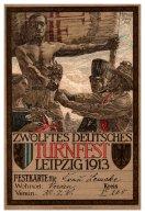 16046  Turnfest Leipzig 1913 - Exhibitions