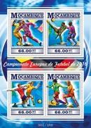 MOZAMBIQUE 2015 SHEET EURO CUP FOOTBALL FUTBOL SOCCER SPORTS DEPORTES Moz15311a - Mozambique
