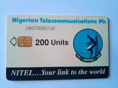 Nigeria Phonecard 200 Units Chip Card 1NAIF Nigerian Telecommunications PLC - Nigeria