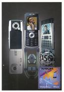 20N : Carte Maximum Card, Malaysia 150th Year Telecommunication, Handphone,mobile Phone Maxicard,MC