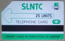 Sierra Leone Phonecard 25 Units Logo - Sierra Leone