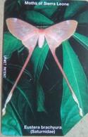 Sierra Leone Phonecard 200 Units Butterfly - Sierra Leone