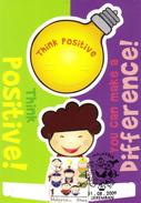 20N : Carte Maximum Card, Malaysia Think Positively,good Idea Light Bulb,  Maxicard,MC