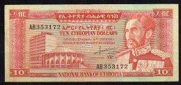 466-Ethiopie Billet De 10 Dollars 1966 AB353 - Ethiopie
