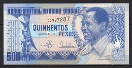 537-Guinée Bissau Billet De 500 Pesos 1990 CC397 - Guinea-Bissau