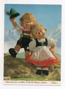 MECKI - Kommt, Wir Wollen Euch Di Berge Zeigen - Scritta Ma Viaggiata In Busta Nel 1968 - (FDC4416) - Cartolina Nr. 332 - Mecki