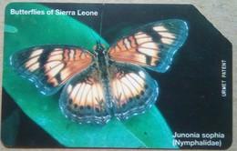 Sierra Leone Phonecard 50 Units Butterfly - Sierra Leone