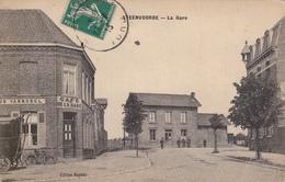 CARTE POSTALE   STEENVOORDE 59  La Gare - France