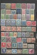 G193-LOTE SELLOS ANTIGUOS CLASICOS AUSTRIA,CON UNOS POCOS AMORTIZA,SIN TASAR,VEA. ************************************** - Collections