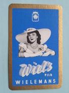 WIEL'S Pils Wielemans ( Schoppen 10 ) - ( Details - Zie Foto´s Voor En Achter ) !! - Barajas De Naipe
